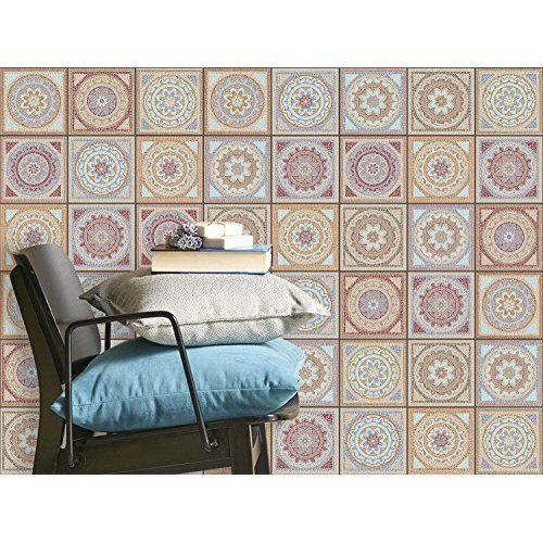 Autocollant Adhesif Pour Carreaux De Ciment Sticker Carrelage Interieur Mural Film De Bricolage Renovation De Salle De Bain Et Cuisine Des B Tiles