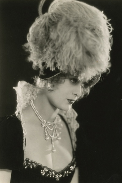 """Dolores Costello in """"Glorious Betsy,"""" 1928. Portrait by Preston Duncan"""