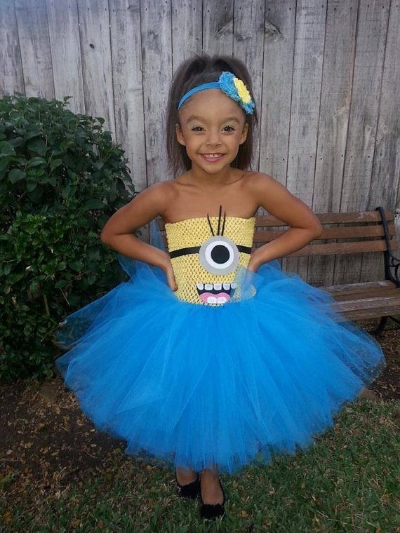 awesome kids halloween costumes ideas despicable me minion halloween costumes for girls - Little Girls Halloween Costume Ideas