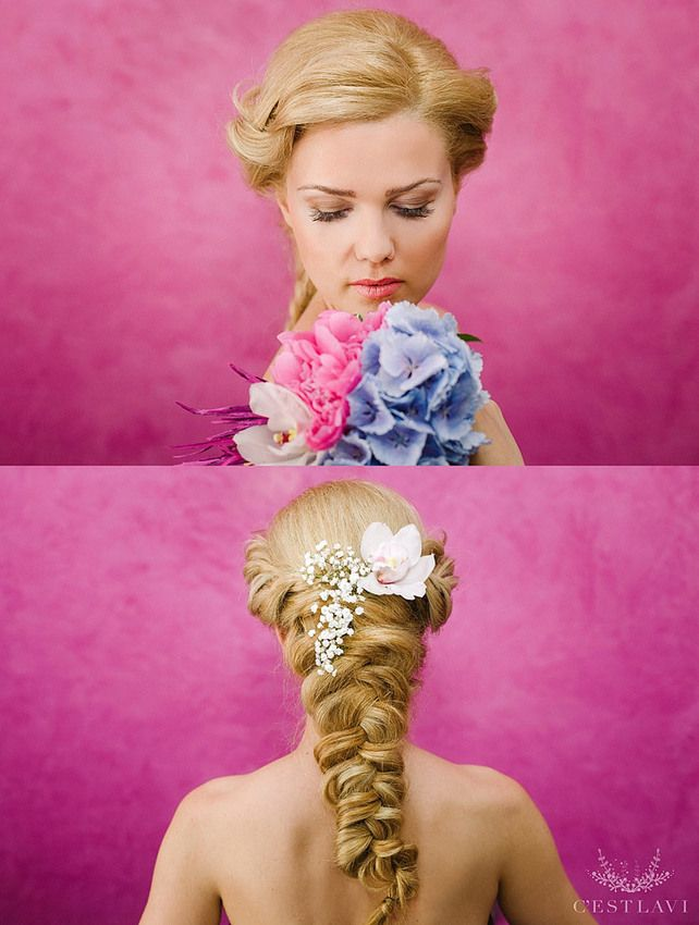 Impletritura Mireasa ❤️ Bride Braid Hairstyle