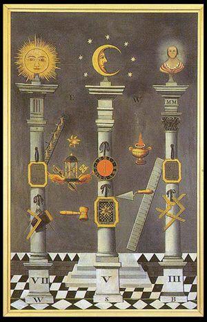 The Langley Engraving :: Academia Lodge № 847 - Freemasons of California