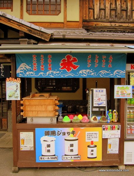 かき氷屋さん Japanese kakigori shop