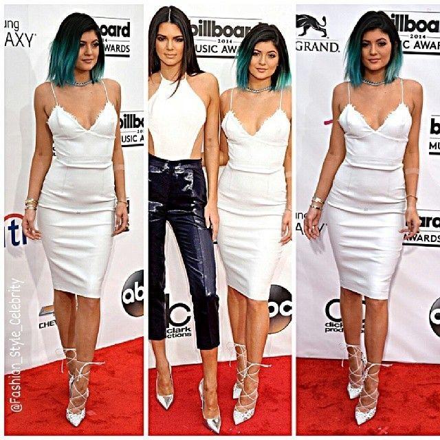 FASHION FROM BILLBOARD MUSIC AWARDS 2014#KylieJenner #kendalljenner #kimkardashian #kanyewest #leatherpants  #celinebag #celine #fashion #style #celebrity #socialite #dress #suit #handsome #gown #dress #blue #black #heels #makeup #lookbook #look #purse #ootd #fashionista #shorts #kardashian #realityshow... - Celebrity Fashion