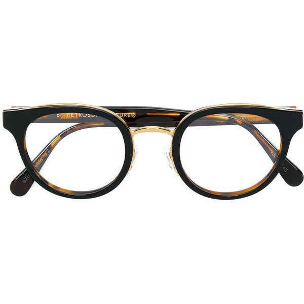 Retrosuperfuture Numero 22 optical glasses (€270) ❤ liked on Polyvore featuring accessories, eyewear, eyeglasses, black, retrosuperfuture glasses, retrosuperfuture, retrosuperfuture eyeglasses, unisex glasses and acetate glasses