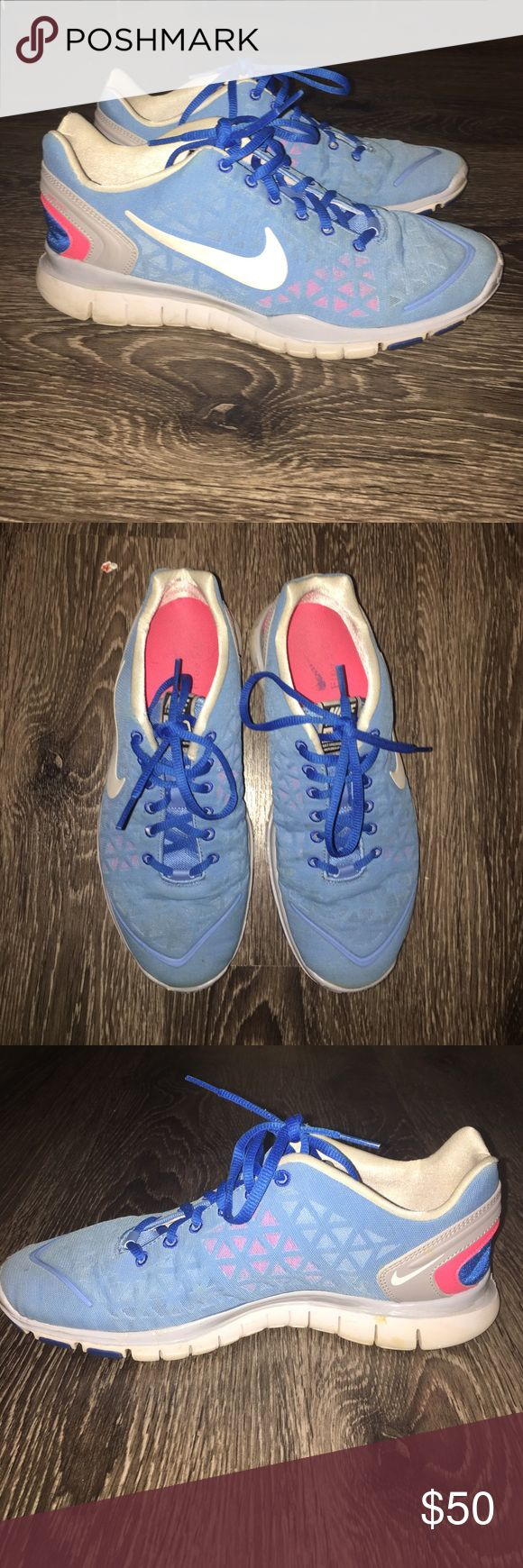 Nike Training Free Fit 2 Size 9.5, gently worn. I love these shoes but they're a little too big for me to wear without my foot sliding around. Very comfortable besides that! Nike Shoes Athletic Shoes
