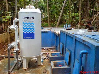 Pondok Pesantren Ummul Quro Al Islami yang terletak di daerah Bogor sudah menggunakan Filter Air merek HYDRO type STN 8 dengan kapasitas menyaring sekitar 8000 liter/jam. Dengan memanfaatkan air sungai sebagai sumber air yang digunakan untuk keperluan sehari-hari seperti untuk mandi cuci dan sebagainya, maka pasokan air di lingkungan pesantren tidak pernah habis.