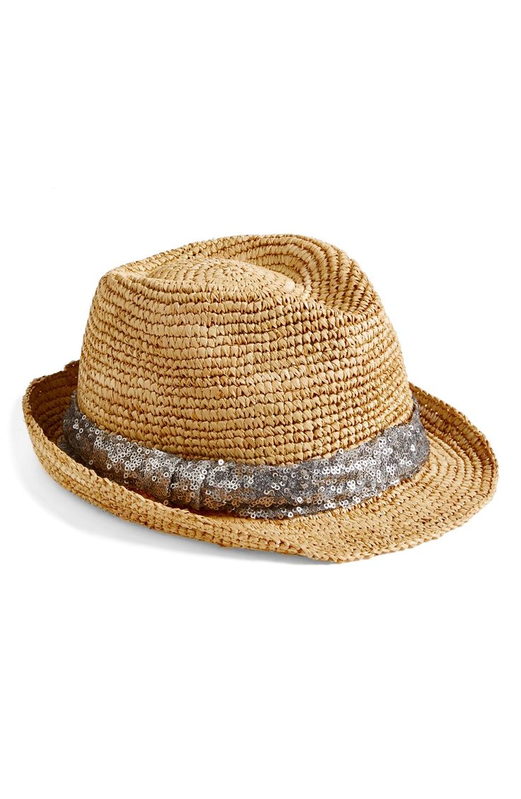 Can't wait to wear this fun sequin fedora on vacation!