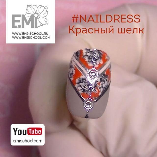 "496 Likes, 3 Comments - Ekaterina MIroshnichenko (@emiroshnichenko) on Instagram: ""Симпатичная идея с #Naildress «Красный шелк»  Подробнее, как всегда, на нашем канале YouTube…"""