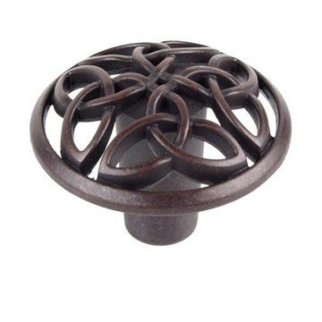 The Celtic style collection offers the ancestral Irish design in a knob and three sizes of handles. The Celtic knot design is a decorative folk art with ancient beginnings and a rich history.