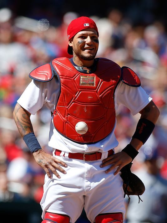 MLB says there was no violation in Yadier Molina's bizarre incident  -  April 7, 2017