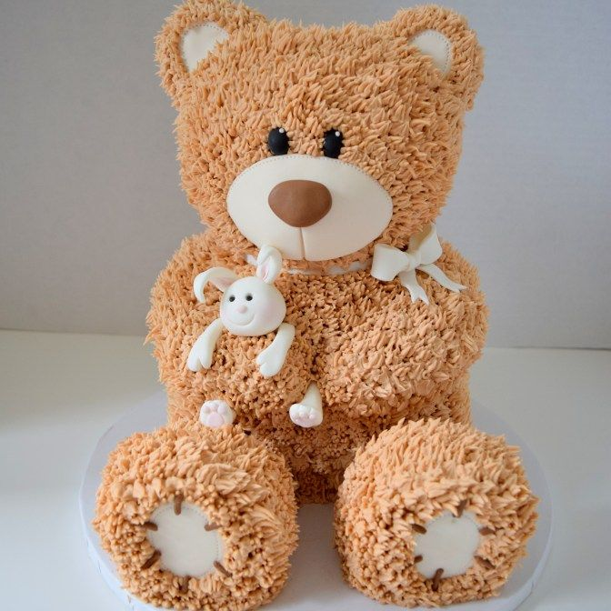 Teddy Bear Cake - 3D Sculpted Cakes | Kyrsten's Sweet Designs                                                                                                                                                                                 Mehr