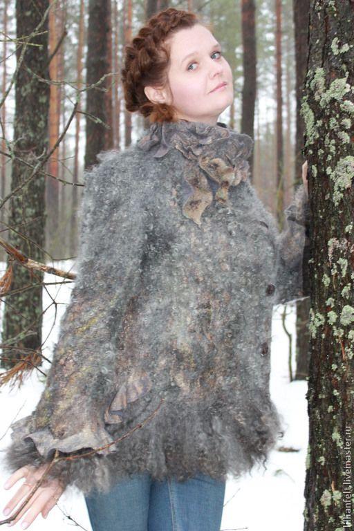 """Купить """" Альянс оттенков серого"""" - женская одежда, модная одежда, мода 2014, жакет"""