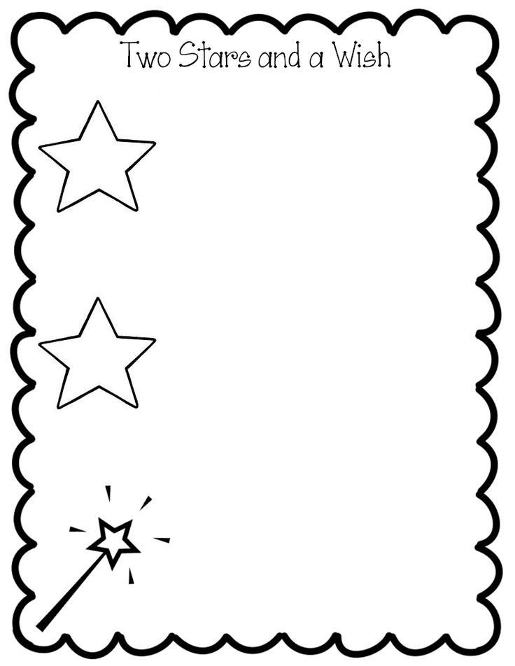 2 Stars and a Wish - descriptive feedback for students
