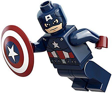 Captain America with Shield Minifigure