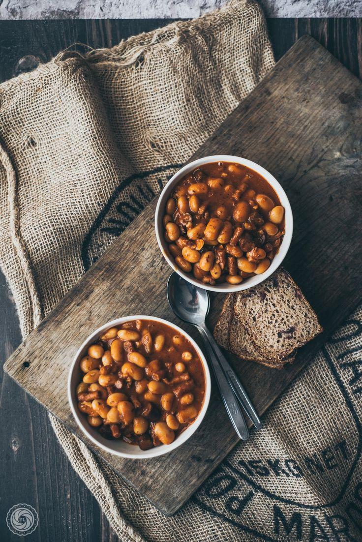 Fasolka po bretońsku. | Baked beans (Polish style). | Yummy Lifestyle