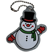 Slushy the Snowman Travel Tag  $5.50 USD    Slushy the Snowman loves to go caching in the winter months when it's cold. He specializes in finding caches under the snow and loves making snow angels at GZ!    This tag is trackable on http://www.geocaching.com/track/ with a unique icon.
