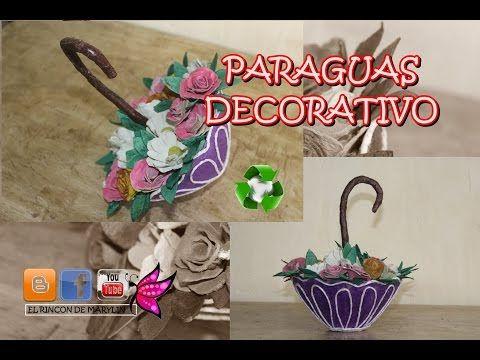 PARAGURAS DECORATIVO - YouTube