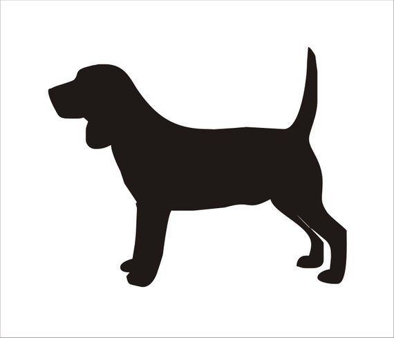 Beagle Dog Stencil Reusable Stencils Beagle 4 Sizes Available