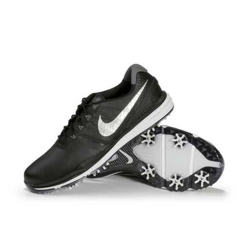 watch 07706 9b110 ... Nike Lunar Control 3 Mens Golf Shoes - BlackPlatinumSilver ...