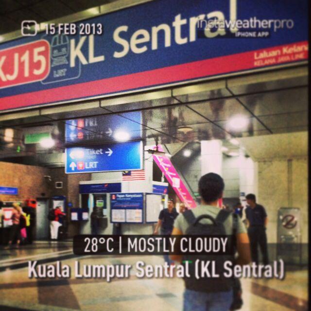Lost People at KL Sentral Kuala Lumpur #throwback #flashback #holiday #KLtrip