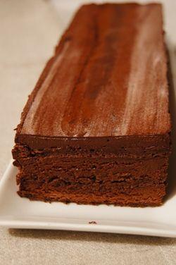 バレンタインに♡手作りんおチョコレートレイヤーケーキ♡♥♡