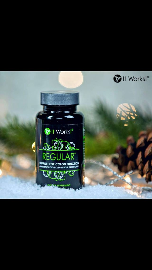 After a big Christmas dinner and sweets galore, restore and support normal colon function—naturally! 💚