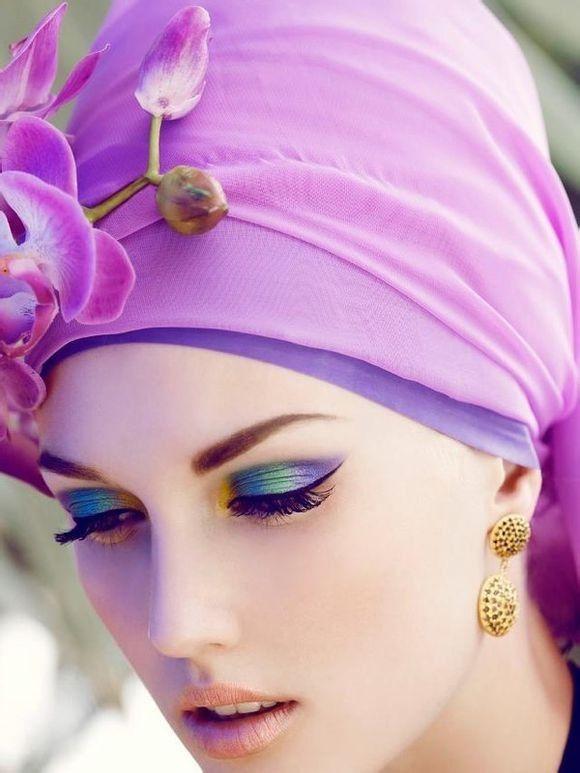 Eyes makeup inspiration - #colorful #makeup