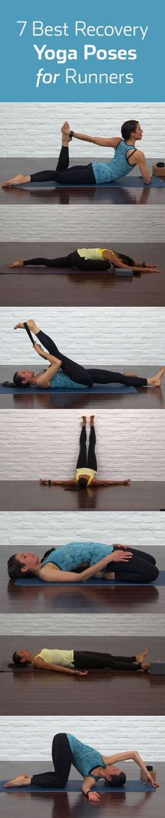The 7 Best Yoga Poses for Recovery | Runner's World @Marina Zlochin Zlochin Zlochin Brown