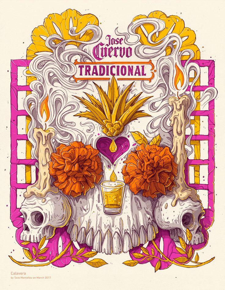 Echa un vistazo a este proyecto @Behance: \u201cJose Cuervo Tradicional label proposal\u201d https://www.behance.net/gallery/53379039/Jose-Cuervo-Tradicional-label-proposal