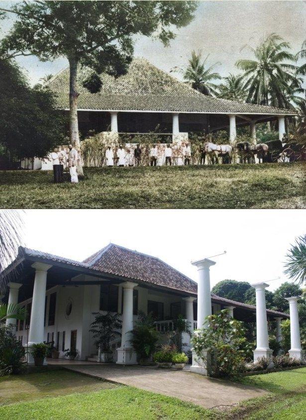 Landhuis Kahoeripan, Ciseeng, 1900 Arsitektur, Indonesia