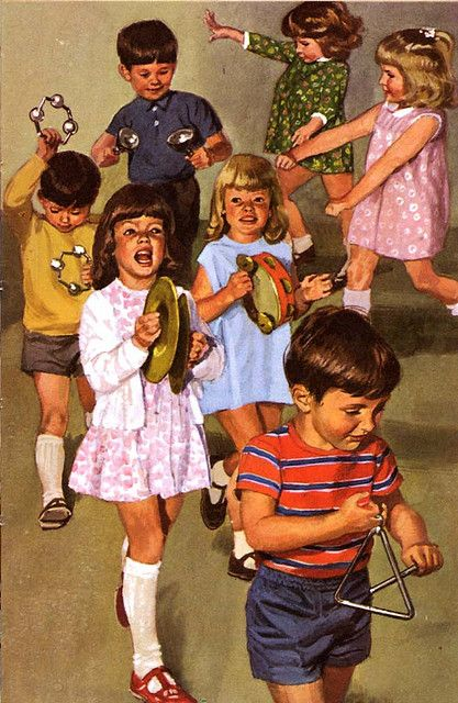Vintage Ladybird Books ::: An image from the 'Learning with Mother' books (Ladybird series 702) by Ethel Wingfield; illustrated by Harry Wingfield; First Published 1970-1972.
