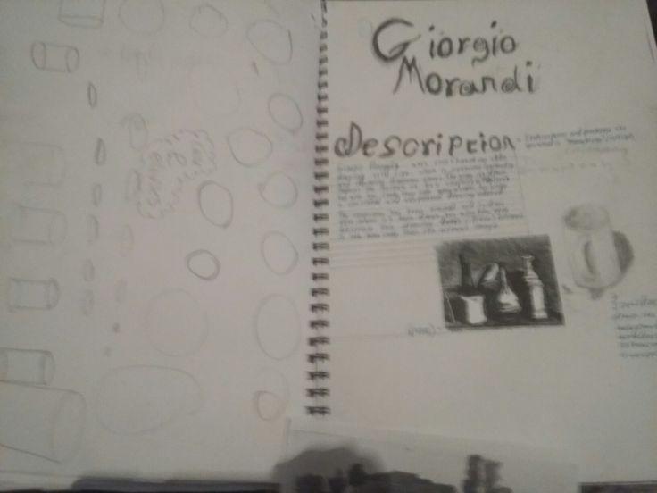 Sketchbook pages 17-18