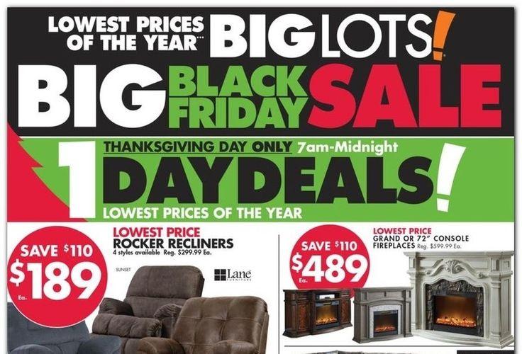 Big Lots Black Friday 2020 Ad Deals And, Furniture Black Friday Ad 2020