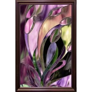 'Swaying Glass' Graphic Art Print Format: Cherry Grande Framed by Wayfair