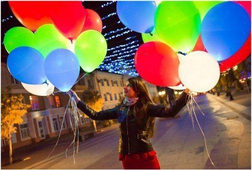 Производство и продажа светящихся шаров