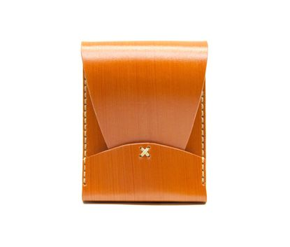 """Portrait Wallet-Saddle"" by Jaqet available on: http://simplecastle.com/product-details.asp?id=964"