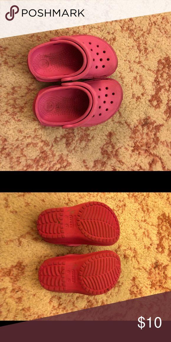 Pink Crocs Adorable! Great condition CROCS Shoes