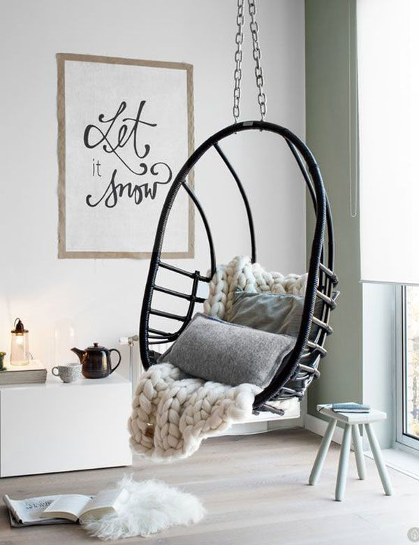 25+ best Indoor Hanging Chairs ideas on Pinterest | Swing chair ...