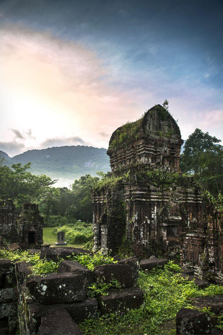 My Son, Vietnam's hidden ruins #SoutheastAsia #architecture #explore