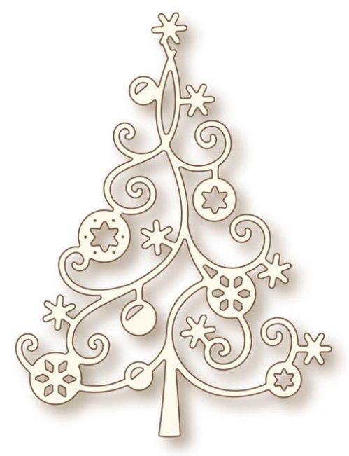 Wild Rose Studio - Die - Christmas Tree