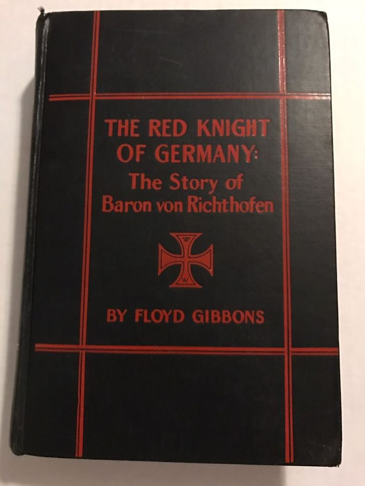 Red Knight of Germany: The Story Of Baron von Richthofen 1927 Edition | Books, Antiquarian & Collectible | eBay!