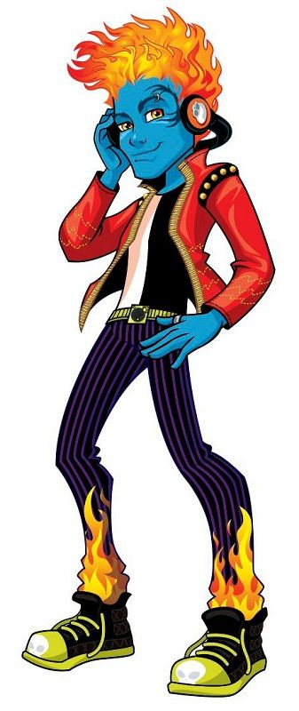 Holt Hyde - Monster High Wiki
