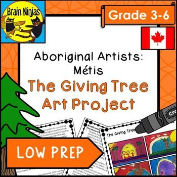 This simple art lesson uses Leah Dorian's book The Giving Tree: A Retelling of a Mtis Traditional Story and can easily connect to your Social Studies teachings about the Mtis people of Canada. Students create a painting based on the style and theme of the book.