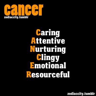 REPOST - Definition of Cancer. Yep | Zodiac | Pinterest