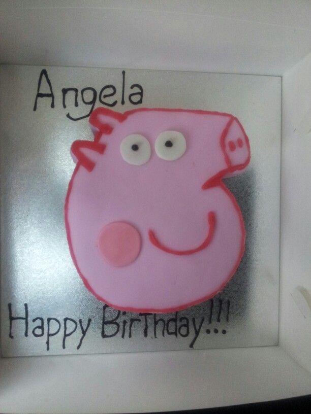 Www.facebook.com/kelseymaycakes  Peppa pig cake