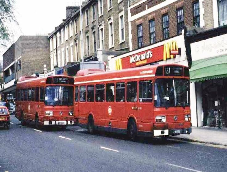 An Old Photos of Forest Hill Shops South East London England in the 1980s