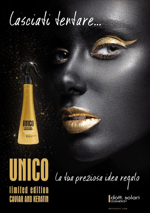 --UNICO LIMITED EDITION CAVIAR AND KERATIN--