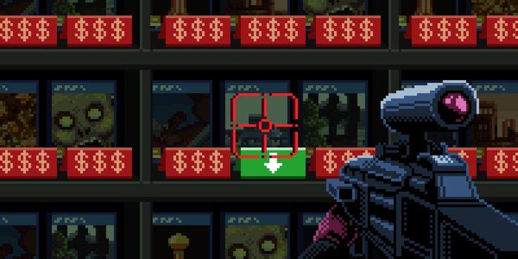 8-bit First person shooter
