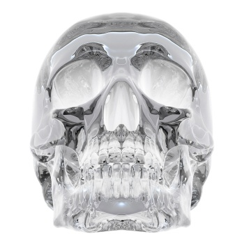 One of thirteen Crystal Skulls