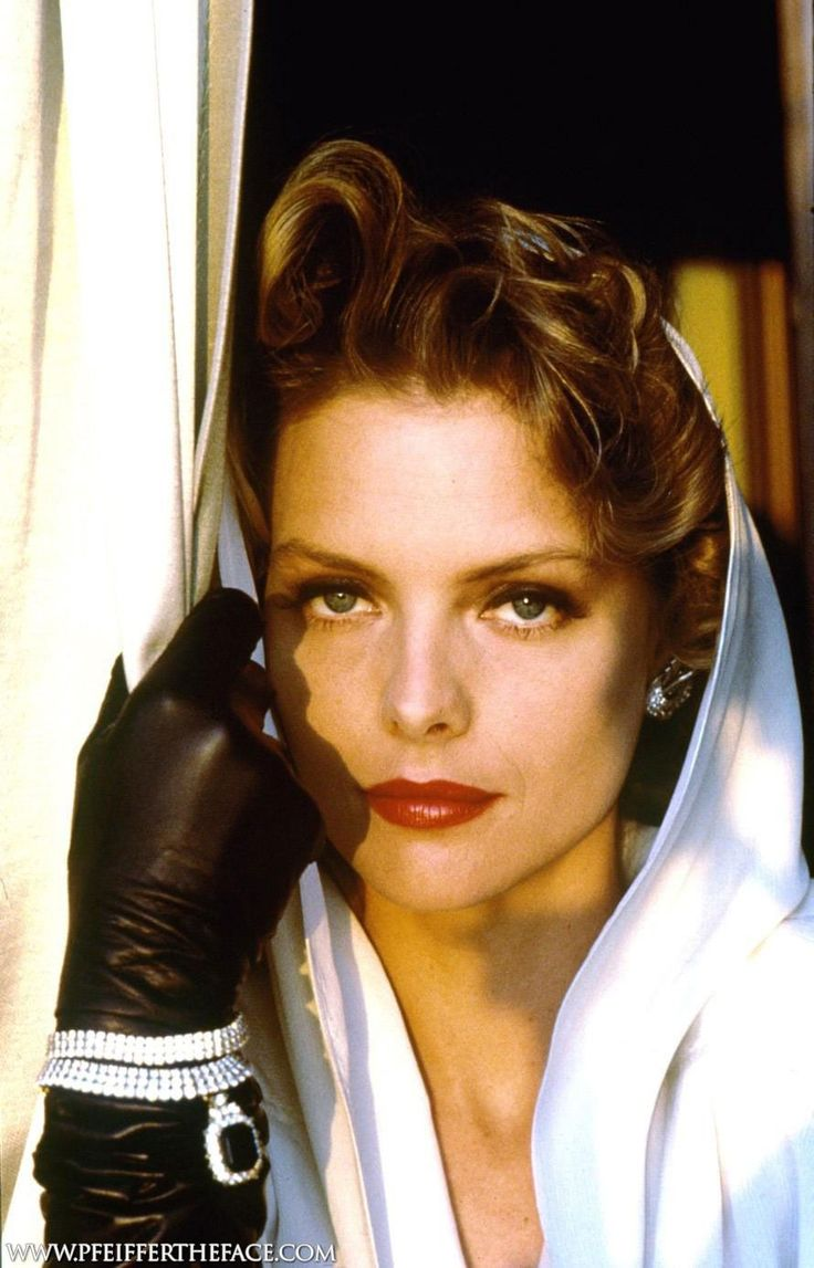 Michelle Pfeiffer Leather Gloves Gloves Women